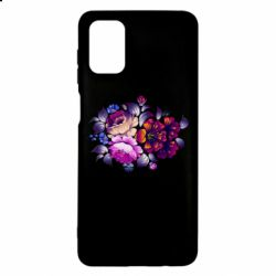 Чехол для Samsung M51 Flowers in a cold shade