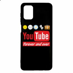 Чохол для Samsung M51 Forever and ever emoji's life youtube
