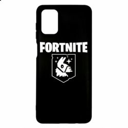 Чехол для Samsung M51 Fortnite and llama