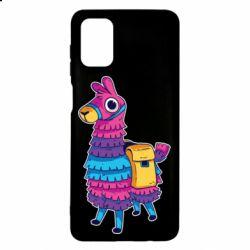 Чехол для Samsung M51 Fortnite colored llama