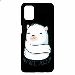 Чохол для Samsung M51 Free hugs bear