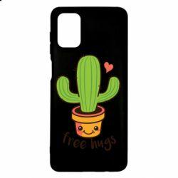 Чохол для Samsung M51 Free Hugs Cactus