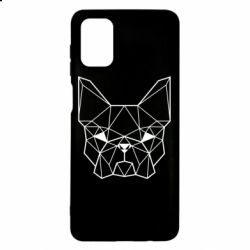Чехол для Samsung M51 French Bulldog Art