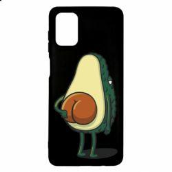 Чохол для Samsung M51 Funny avocado