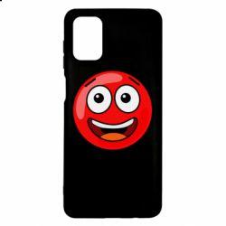 Чохол для Samsung M51 Funny Red Ball
