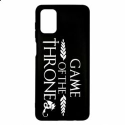 Чохол для Samsung M51 Game of thrones stylized logo