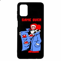 Чехол для Samsung M51 Game Over Mario