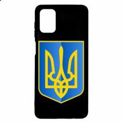 Чехол для Samsung M51 Герб України 3D