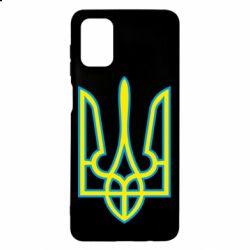 Чохол для Samsung M51 Герб України (двокольоровий)