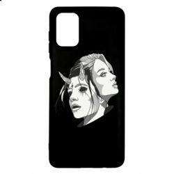 Чехол для Samsung M51 Girl and demon