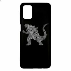 Чохол для Samsung M51 Godzilla from the newspapers