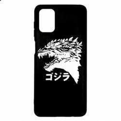 Чохол для Samsung M51 Godzilla in japanese