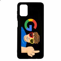 Чохол для Samsung M51 Google guy Fuck You