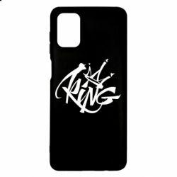 Чехол для Samsung M51 Graffiti king