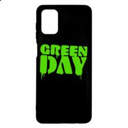 Чехол для Samsung M51 Green Day
