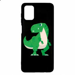 Чохол для Samsung M51 Green little dinosaur