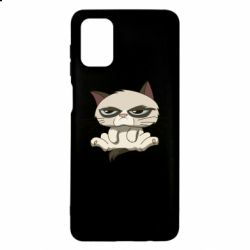Чохол для Samsung M51 Grumpy Cat Art nope
