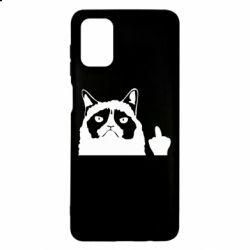 Чохол для Samsung M51 Grumpy cat F**k Off