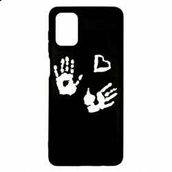 Чехол для Samsung M51 Hands and heart