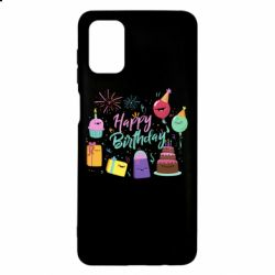 Чохол для Samsung M51 Happy Birthday