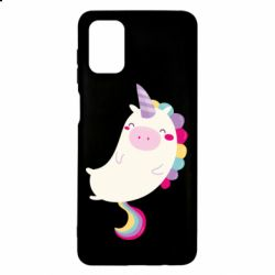 Чехол для Samsung M51 Happy color unicorn