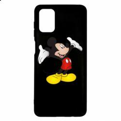 Чохол для Samsung M51 Happy Mickey Mouse