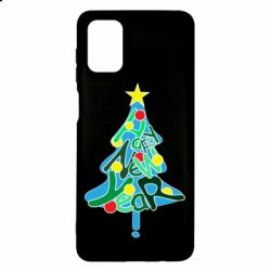 Чохол для Samsung M51 Happy new year on the tree