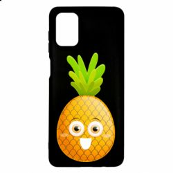 Чехол для Samsung M51 Happy pineapple