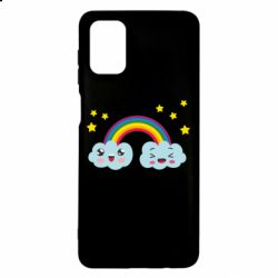 Чехол для Samsung M51 Happy rainbow