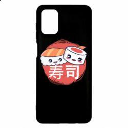 Чехол для Samsung M51 Happy sushi