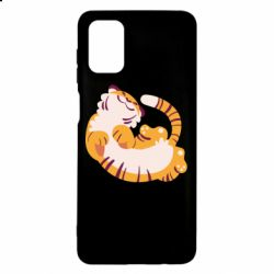 Чохол для Samsung M51 Happy tiger