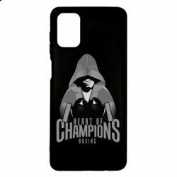 Чехол для Samsung M51 Heart of Champions