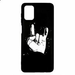 Чохол для Samsung M51 HEAVY METAL ROCK