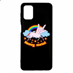 Чехол для Samsung M51 Heavy metal unicorn