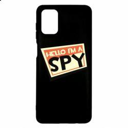 Чохол для Samsung M51 Hello i'm a spy
