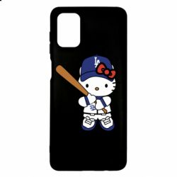 Чохол для Samsung M51 Hello Kitty baseball