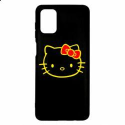 Чехол для Samsung M51 Hello Kitty logo