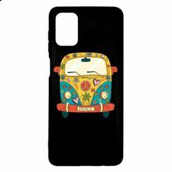 Чохол для Samsung M51 Hippie bus