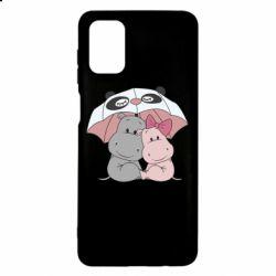 Чохол для Samsung M51 Hippos