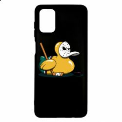 Чохол для Samsung M51 Hockey duck