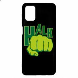 Чехол для Samsung M51 Hulk fist