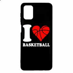 Чехол для Samsung M51 I love basketball