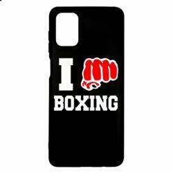 Чехол для Samsung M51 I love boxing