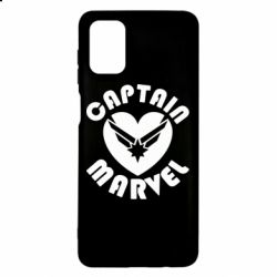 Чохол для Samsung M51 I love Captain Marvel