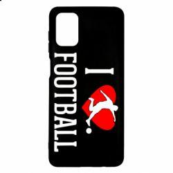 Чохол для Samsung M51 I love football