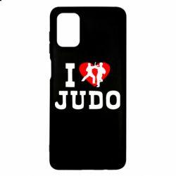 Чехол для Samsung M51 I love Judo