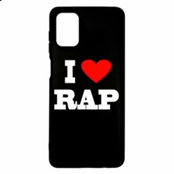 Чехол для Samsung M51 I love rap
