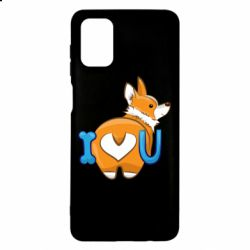 Чехол для Samsung M51 I love you corgi