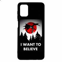 Чехол для Samsung M51 I want to BELIEVE poster