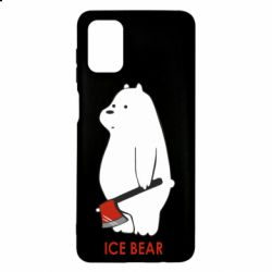Чохол для Samsung M51 Ice bear